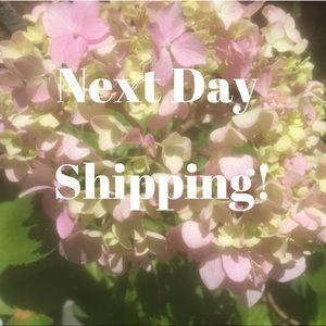 I ship next day!